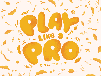 Play Like a Pro Lettering/Illustration