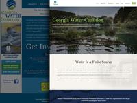 GA Water Coalition Web Refresh