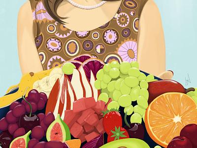 Fruit Salad? wacom realism photoshop art portraiture digital art photoshop