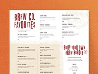 Arrowhead Ales :: Dinner Menu