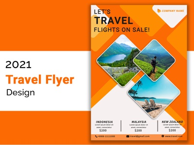 travel flyer2021 design flyer template flyer design travel flyer
