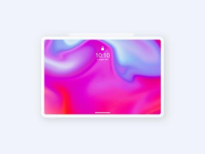 Magical Liquid Art - Wallpaper graphic design color ux design wallpaper minimal liquid effect