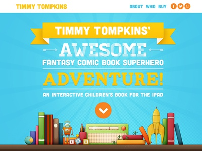 Timmy Tompkins Promo Site