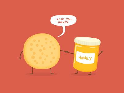 Golden Crumpets - Valentine's Day