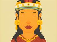 Aztecs – Noblewoman