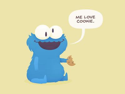 Me Love Cookie