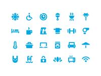 Hotel Amenity Icons
