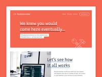 Kuddelmuddel Site - Desktop