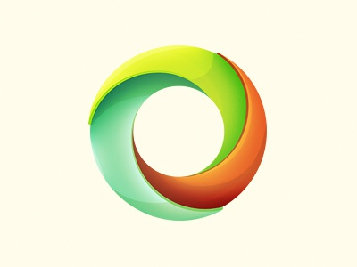 Circular Logo Device Thingy design logo illustration digital shading circle fresh colourful shadow device circular enviro press print icon