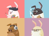 Quick Link Bunnies