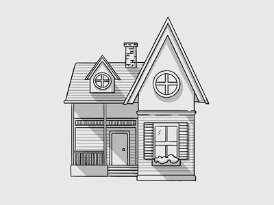 Sketch Of The House Royalty Free And Stock Footage