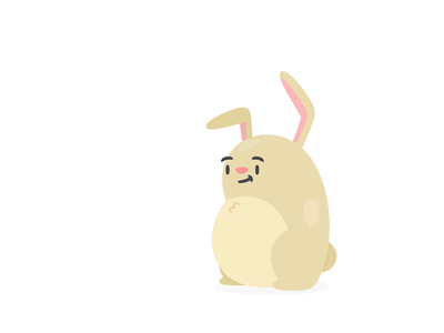 Hotels Onboarding animation ui character bunny onboarding hotels
