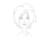Blondie Sketch