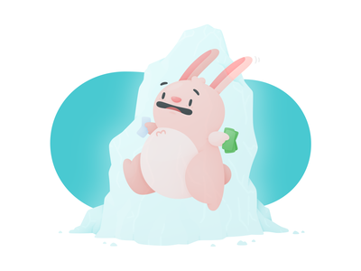 Price Freeze price tag travel money prices bunny illustration hopper freeze price