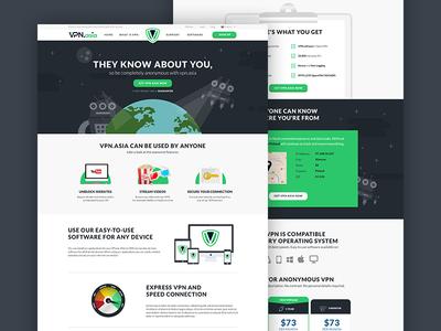 VPN.asia webdesign