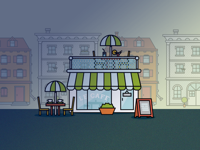 City Icons - Cafe