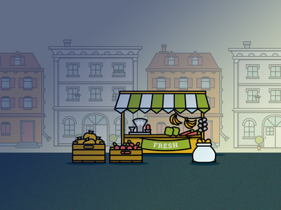 City Icons - market