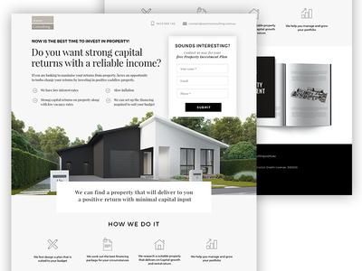 Landing page - real estate