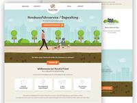 Hund & Fründ webdesign