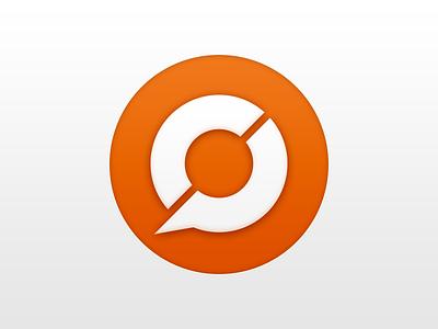 New CP Logo – Testing Orange orange circle logo branding