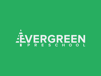 Evergreen Preschool Logo Redesign