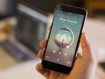 TIDAL Mobile App (Concept) music mobile ui iphone tidal artist album song player repeat shuffle hifi