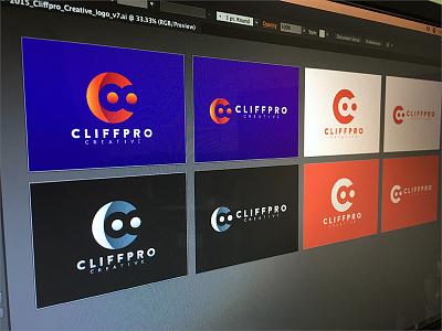 CC Colors logo branding colors gradients c