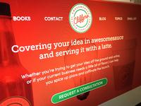 Cliffpro DAC Homepage (WIP)