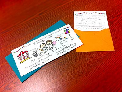 Wedding invites printed dribbble