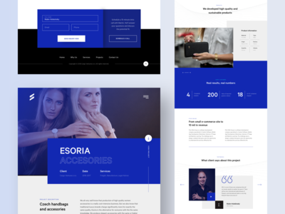 SPLY case study landing page + all pages