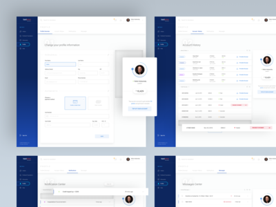 Textemo business dashboard - profile