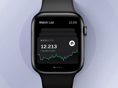 Trading app for apple watch app animation product design product ui ux apple watch watch trading crypto finance blockchain crypto exchange after effects ae