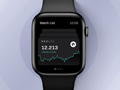 Trading app for apple watch