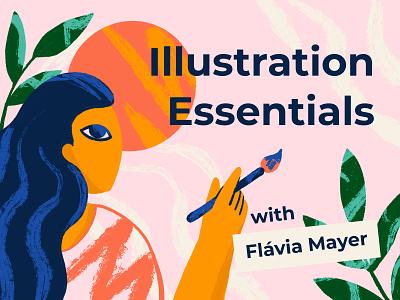 Illustration Essentials Course learn e-learning illustrator vector procreate course illustration
