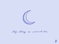 Stay strong, moonchild 🌙