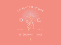 The beautiful silence of growing things 🌸