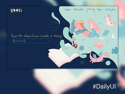 DailyUI 003 uiux ui design uidesign ui web illustration design dailyui dailyuichallenge daily 100 challenge