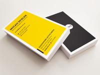 Clockwork Business Cards