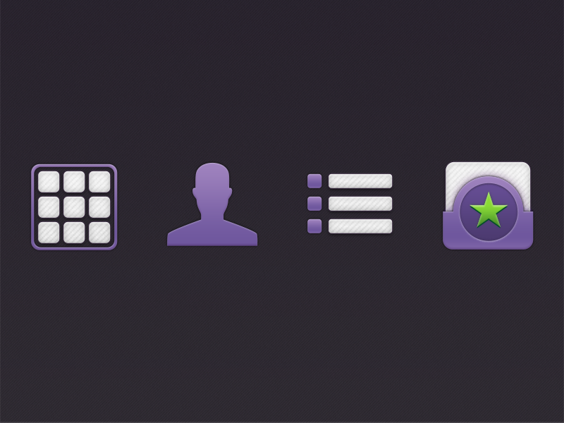 App Icons by Micah Spieler on Dribbble