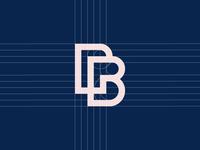 Between Pixels—Logo Design Process