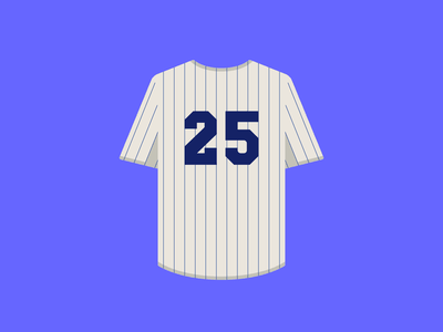 Curb Your Enthusiasm — Yankees Jersey fasion clothing baseball yankees sports yankees jersey art print branding texture flat geometric nyc creative direction spot illustration icons larry david print curbyourenthusiasm design illustration