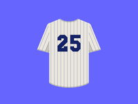 Curb Your Enthusiasm — Yankees Jersey