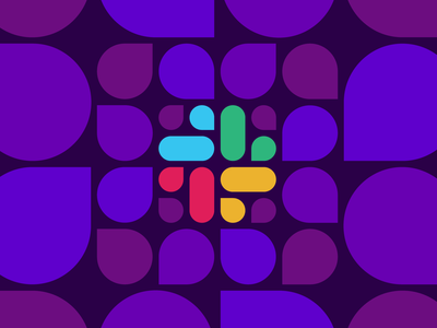 Announcing Datadog's Slack Integration tech cloud saas monitoring integration editorial design classic pattern blog slack app branding datadog editorial illustration slack minimal vector geometric flat design illustration