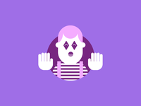 Mime guy
