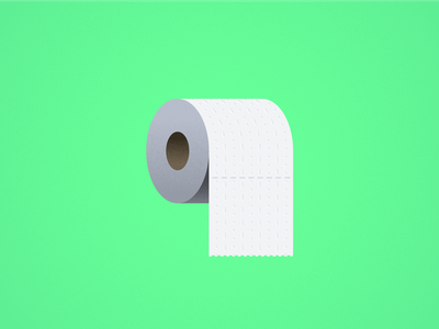 Seinfeld Icons — Spare a Square? paper toiletries spare a square toilet paper creative direction art direction print vector modern texture style seinfeld minimal art icons color geometric flat design illustration
