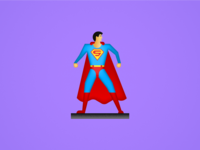 Seinfeld Icons — Superman Action Figure