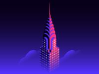 Isometric Chrysler Building