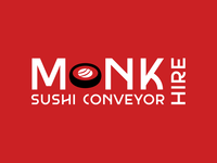 Monk Sushi Conveyor Hire Logo