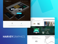 HarveyGraphics Website Design