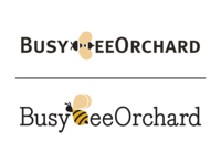 BusyBeeOrchard logo comps